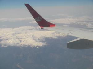 เครื่องบินโดยสารบินที่ความสูงประมาณ 3 หมื่นฟุตจากระดับน้ำทะเล (ภาพโดยกัปตันนีโม)