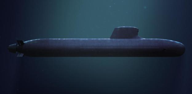 A supplied image obtained Tuesday, April 26, 2016 of French submarine, Shortfin Barracuda, designed by the DCNS group. Bidders from France, Germany and Japan are up for the massive contract to build Australia's new submarines. (AAP Image/DCNS Group) NO ARCHIVING, EDITORIAL USE ONLY